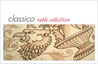 Lavia Grande Classico table collection